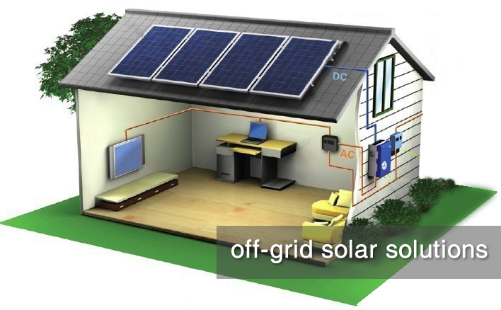 off-grid solar soutions