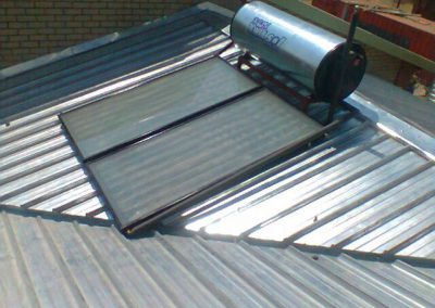 Reference Site –  Solar Water Heating Rooiberg Clinic August 2012